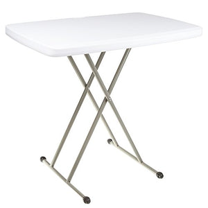 Everyday Home Folding Table, Foldable Table and TV Tray, 30 x 20 x 28 (Great for Laptops)