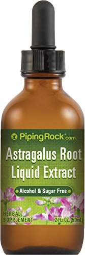 Astragalus Root Liquid Extract 2 fl oz (59 mL) Dropper Bottle Alcohol & Sugar Free Herbal...