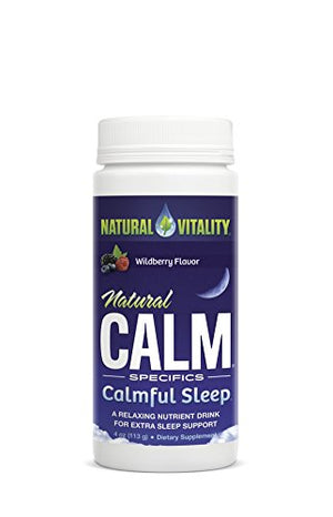 [2 Bottles] NATURAL VITALITY Sleep Vitamin, 4 Ounce Each
