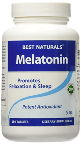 Best Naturals Melatonin 10mg 120 Tablets - Drug-Free Nighttime Sleep Aid - Melatonin for sleep and relaxation