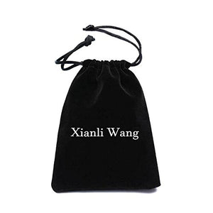 SHIP BY USPS Xianli Wang Jewelry Mens Womens Simple Cross Pendant Exquisite Stainless Steel Titanium Necklace