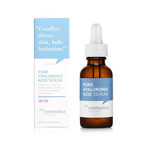 Best-Selling Hyaluronic Acid Serum for Skin-- 100% Pure-Highest Quality, Anti-Aging Serum-- Intense Hydration +...