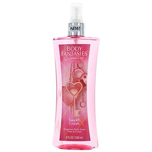 SHIP BY USPS Body Fantasies Signature Sweet Crush by Parfums De Coeur Body Spray 8 oz for Women
