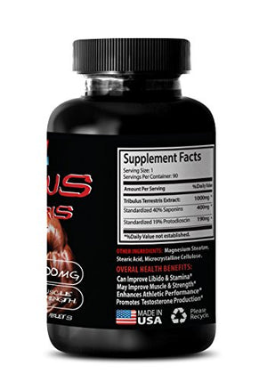 SHIP BY USPS Top Sexual Desire and Performance Herbal Enhancement - Tribulus Terrestris Extract - Most Powerful Testosterone...2 bottles
