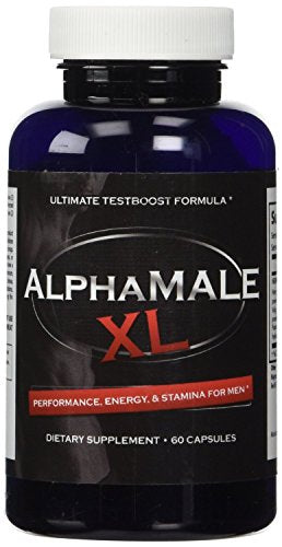 SHIP BY USPS: AlphaMale XL - The #1 Most Potent & Powerful Male Supplement Pills Available! All Natural & Clinically Proven...