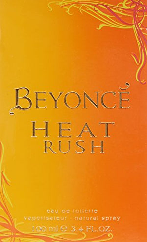 SHIP BY USPS Beyonce Heat Rush by Beyonce, Eau De Toilette Spray, 3.4 Ounce