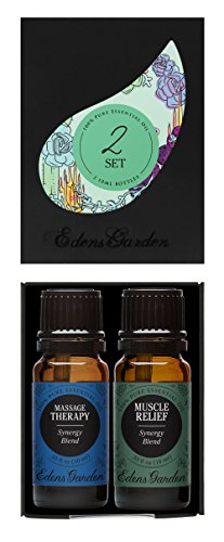 SHIP BY USPS Tea Tree (Melaleuca) Value Pack 100% Pure Therapeutic Grade Essential Oil by Edens Garden- 2 Set 10 ml Roll-Ons