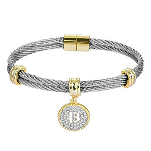 BIJOUX BOBBI Luxury Packaging Alphabets Initial Wire Bracelets & Necklaces - Quality Guaranteed