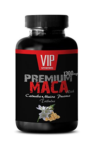 Natural Maca root Extract 1300mg - Natural Male Enhancement For Sexual Well-being Support (1 bottle 60 tablets)