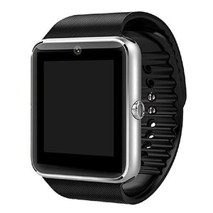 Amazingforless GT08 Bluetooth Touch Screen Smart Wrist Watch Phone with Camera - Silver