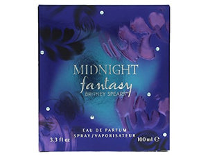 SHIP BY USPS Britney Spears Midnight Fantasy Eau De Parfum Spray, 3.3-Fluid Ounce