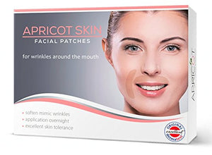 SHIP BY USPS NEW in USA! BESTSELLER in Germany! Apricot Skin facial patches (MOUTH/EYES))