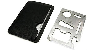 Survival multi tool bundle pack- Set of 3 emergency credit card tools that fit in any wallet!