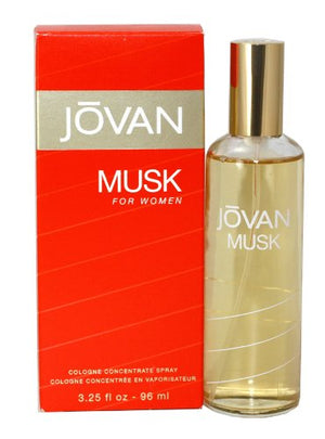 SHIP BY USPS Jovan Musk Women Cologne Concentrate Spray by Jovan, 3.25 Ounce