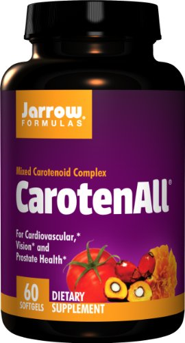 SHIP BY USPS: Jarrow Formulas CarotenALL, For Cardiovascular,...