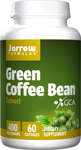 SHIP BY USPS: Jarrow Formulas Green Coffee Bean Extract, Supports Cardiovascular Health, 400 mg, 60 Capsules