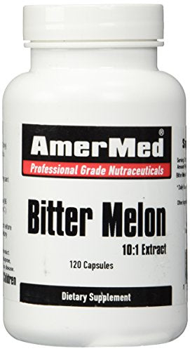 SHIP BY USPS: Bitter Melon Extract 600mg, 120 Capsules by AmerMed
