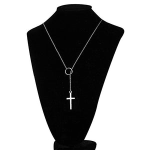 "Perfect 4U Round Long Necklace 925 Sterling Silver Chain for Women Handcrafted Jewelry 16"" - 30"""