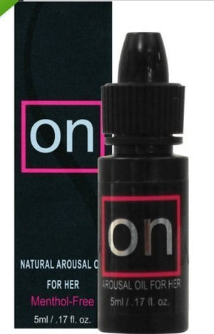 ON NATURAL AROUSAL OIL FOR HER 5 ml FEMALE SEXUAL ENHANCEMENT by On Natural