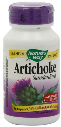 SHIP BY USPS: Nature's Way Artichoke Capsules, 60-Count