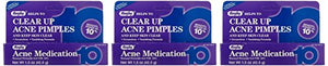 Benzoyl Peroxide 10% Generic for Oxy-10 Balance Acne Medication Gel 1.5oz 3 Pack, 3 Count