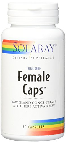 SHIP BY USPS: Solaray Female Capsules, 60 Count