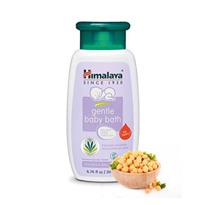 SHIP BY USPS: Himalaya Herbal Healthcare Gentle Baby Bath, 6.76 Fluid Ounce (3 PACK)