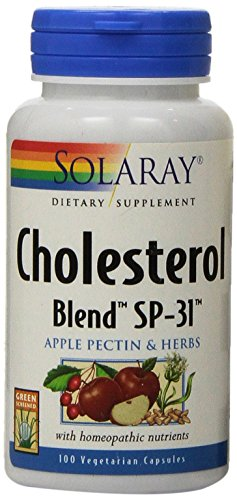 SHIP BY USPS: Solaray Cholesterol Blend SP-31 Capsules, 100 Count