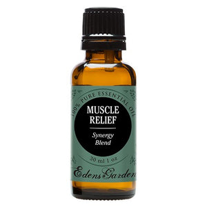SHIP BY USPS Muscle Relief Synergy Blend Essential Oil by Edens Garden- 30 ml (Clove, Helichrysum, Peppermint and Wintergreen)