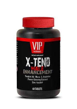 Sexual health - X-TEND Male ENHANCEMENT with Tongkat Ali, Maca, L-Arginine, Muira Puama, Tribulus, Panas...