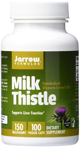 SHIP BY USPS: Jarrow Formulas Milk Thistle, Promotes Liver Health, 150 mg Caps, 100 Veggie Capsules