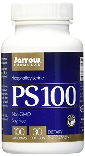 SHIP BY USPS: Jarrow Formulas Ps-100, Brain and Memory Support, 100 mg, 30 Softgels