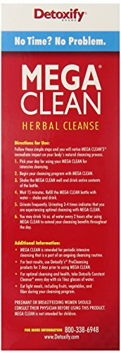 SHIP BY USPS Mega Clean Natural Tropical Flavor - Ultimate In Herbal Cleansing, 1 liter
