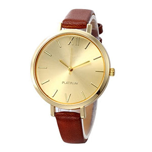 10 Pack Assorted Women's Men's Watches Gold Platinum For Summer Dress Jelly Leather Lovers