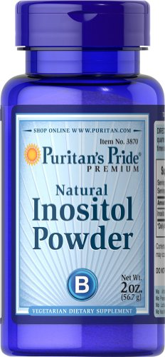 Inositol Powder 1000 mg Natural-2 oz Powder
