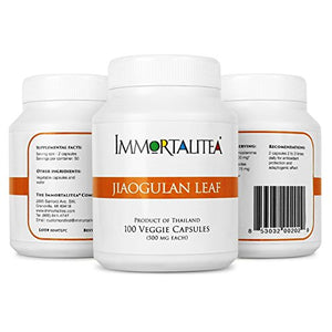 SHIP BY USPS Gynostemma Capsules – Jiaogulan Veggie Capsules an AMPK Activator Weight Loss Supplement - Potent...
