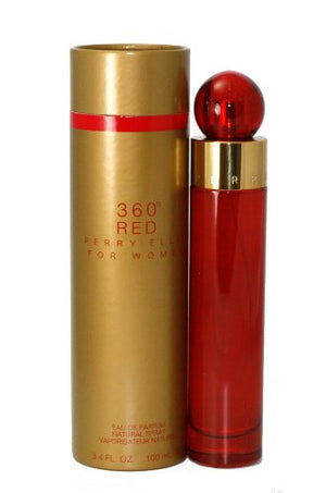 SHIP BY USPS 360 Red by Perry Ellis for Women EDP Spray, 3.4 Ounce