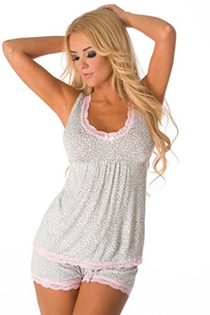 Sexy and Sweet Short PJ Set for Women 543188