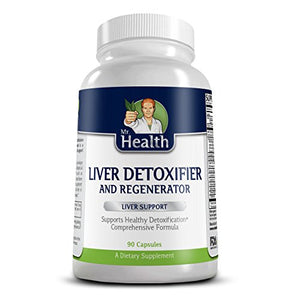 [2 Bottles] Mr Health Liver Detoxifier and Regenerator-detox Cleanse- Assists in Liver Detox-contains Milk Thistle and Turmeric