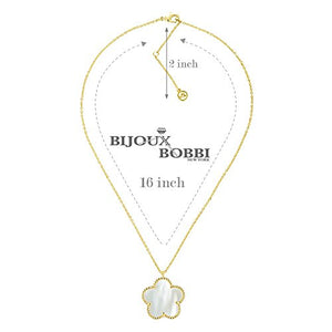 BIJOUX BOBBI Gift Packaging Mother of Pearl 2018 Fashion Collection Jewelries