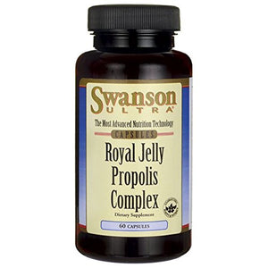 Swanson Royal Jelly Propolis Complex 60 Caps
