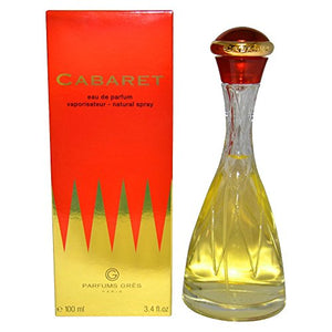 SHIP BY USPS Cabaret By Parfums Gres For Women. Eau De Parfum Spray 3.4 Oz.