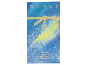 SHIP BY USPS Wings by Giorgio Beverly Hills for Women, Eau De Toilette Spray, 3-Ounce