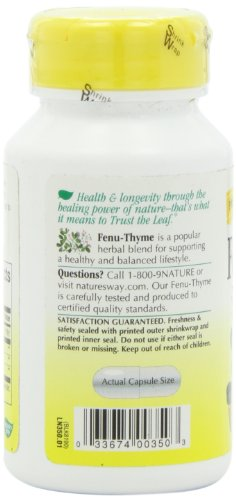 SHIP BY USPS: Nature's Way Fenu-Thyme, 450 mg,100 Capsule