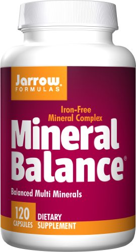 SHIP BY USPS: Jarrow Formulas - Mineral Balance Without Iron, 120 capsules [Health and Beauty]