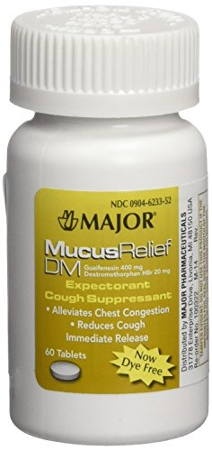 [3 PACK] MucusRelief® DM 400mg/20mg Tablets Expectorant & Cough Suppressant 60 Tabs *Compare to the same...