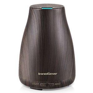 InnoGear 2nd Version Aromatherapy Essential Oil Diffuser Ultrasonic Diffusers Cool Mist Humidifier with 7...