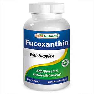 Best Naturals #1 Fucoxanthin with Fucoplast Blend -- 120 Capsules