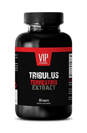 Testosterone booster for muscle growth - NATURAL TRIBULUS TERRESTRIS 1000MG - Tribulus terrestris extract...