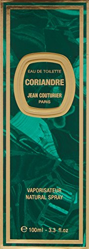 SHIP BY USPS Coriandre By Jean Couturier For Women. Eau De Toilette Spray 3.3 Oz.